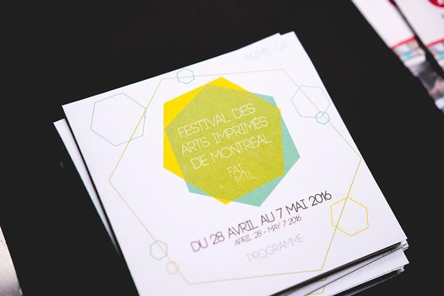 Événement &#8211; Festival des arts imprimés de Montréal<br>du 28 avril au 7 mai 2016