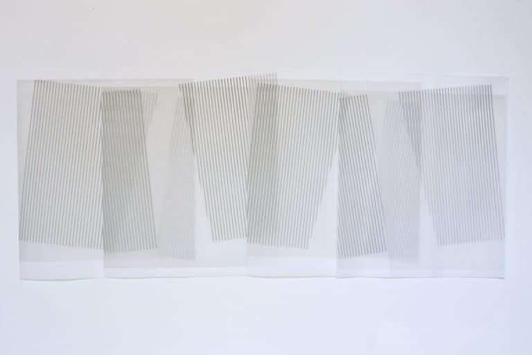 oeuvre helene latulippe agglutinations de lignes